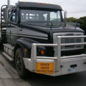 Heavy Rigid Truck Licence