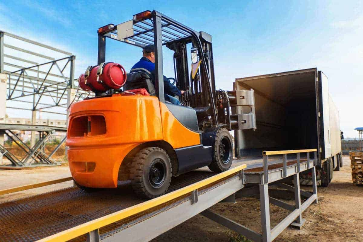Forklift Safety On Loading Docks